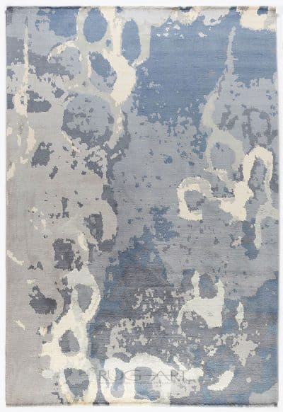 water on color collection featuring arctic hand knotted rug. rug art international