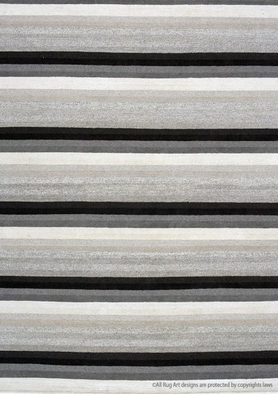 rug art zen from Plain Essentials collection in undyed natural yarns.
